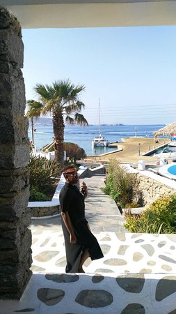 "Tourlos, กรีซ: Our ""home"" in Mykonos. Beautiful. Central to everything. Friendly, helpful staff. Beautiful."