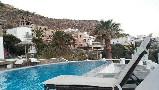 "โรงแรมโอเลีย: Our ""home"" in Mykonos. Beautiful. Central to everything. Friendly, helpful staff. Beautiful."