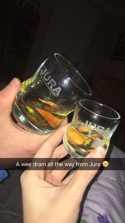 ‪‪Isle of Jura‬, UK: Our souvenir‬