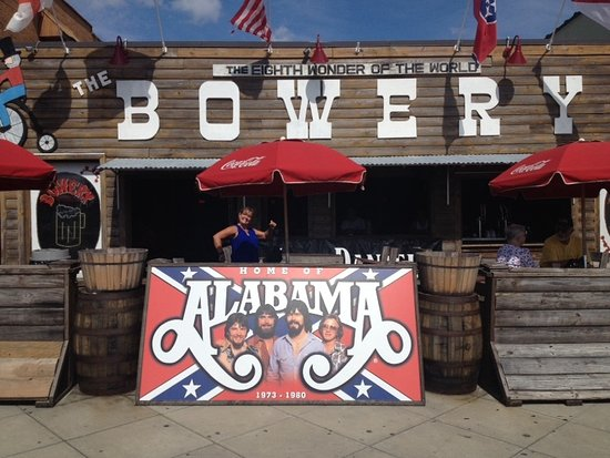 the bowery alabama was the house band from 1973 1980