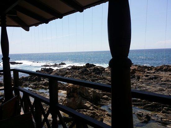 Dikwella, Sri Lanka: View from the restaurant