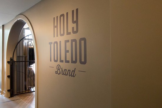 Our Holy Toledo Brand room at the Swamp Shop has everything for your 419 pride.
