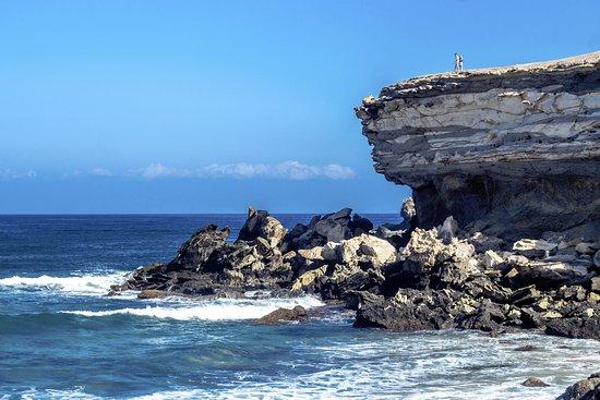 La Pared, Ισπανία: Playa del Viejo Rey, рай для серфинга