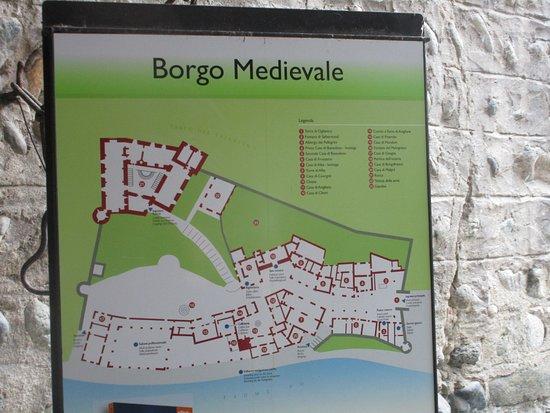 Pianta borgo Picture of Parco del Valentino Turin TripAdvisor