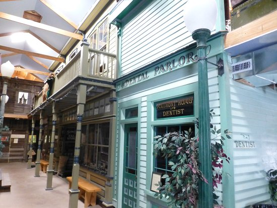"Montrose, CO: The interior ""main street"""