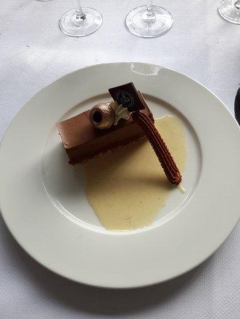 Mont-Saint-Aignan, Francia: Gâteau au chocolat