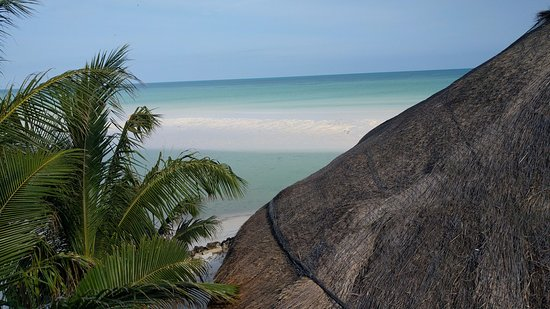 Las Nubes De Holbox: View from Balcony