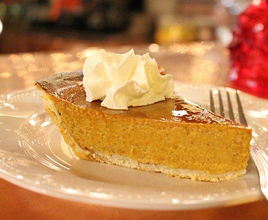 Alex Madonna's Gold Rush Steak House: Pumpkin Pie