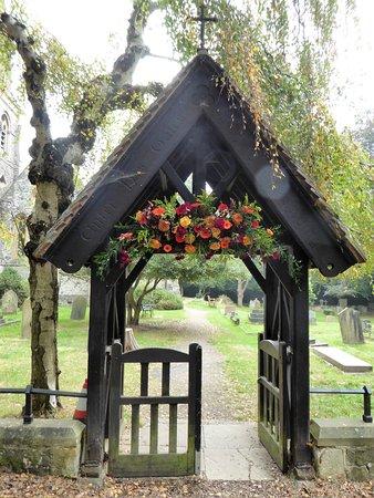 Loughton, UK: Entrée du cimetière