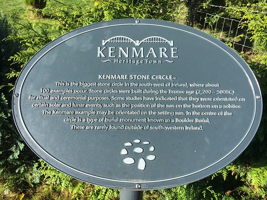 Der Stone Circle in Kenmare