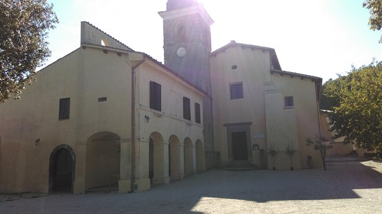 Campagnano di Roma, Italia: Sanctuary Del Sorbo, approximately 20-30 minutes walk from the villa