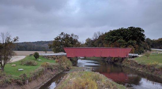 Winterset, IA: Hogback Covered Bridge Oct. 2016