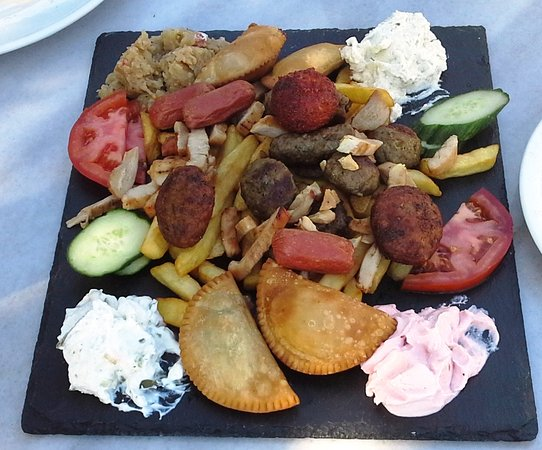 Villa Apollon Skiathos: BUTCHERS PLATE