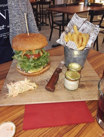 Kotka, Finlande : Premium Burger