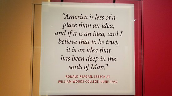 Lots of great Reagan quotes are available throughout the