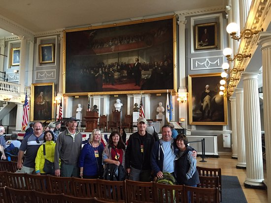 Walking Boston - Tours: October 8, 2016; taken in Faneuil Hall by Ben (he takes pics at every major location)