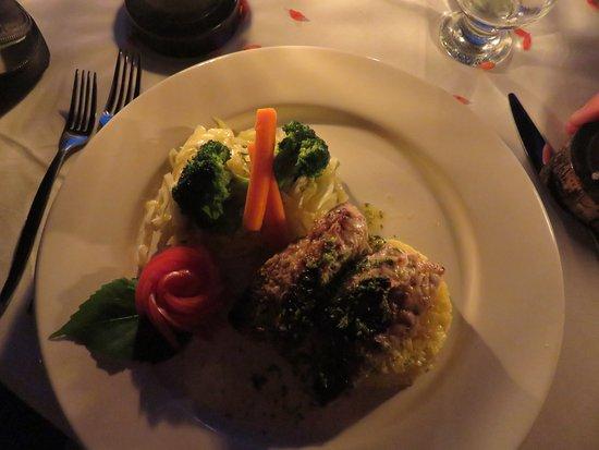 Majahuitas, Mexiko: Fresh grouper for dinner