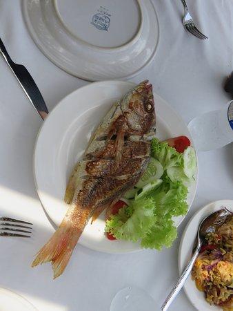 Majahuitas, Mexiko: fresh fish