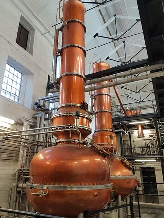 Whitchurch, UK : The distillery
