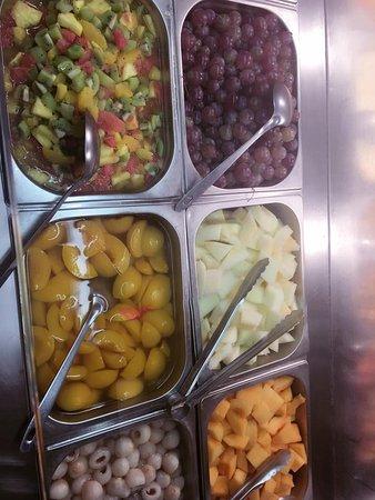 Fegersheim, Frankrike: salade de fruits