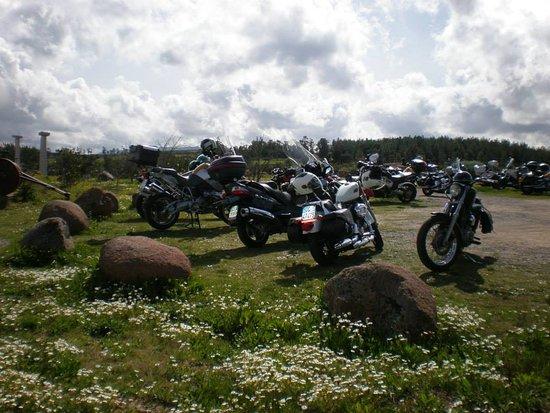Villasalto, İtalya: Anche le moto...sono benvenute