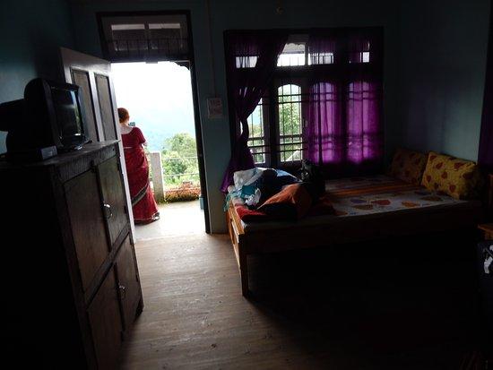 Pedong, India: Room