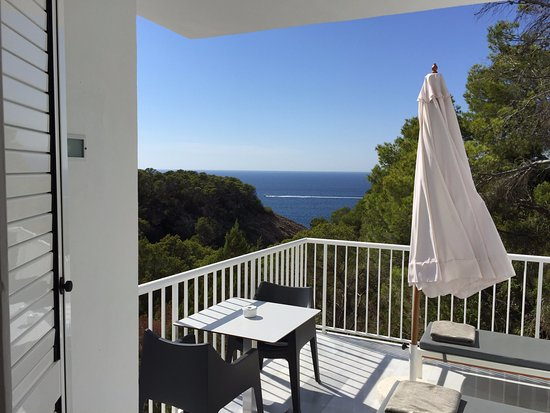 Hotel Village Ibiza : Ocean view room