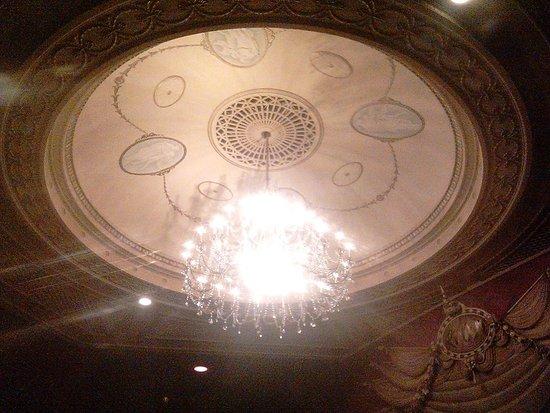 Stratford Festival: Avon Theatre ceiling fixture.