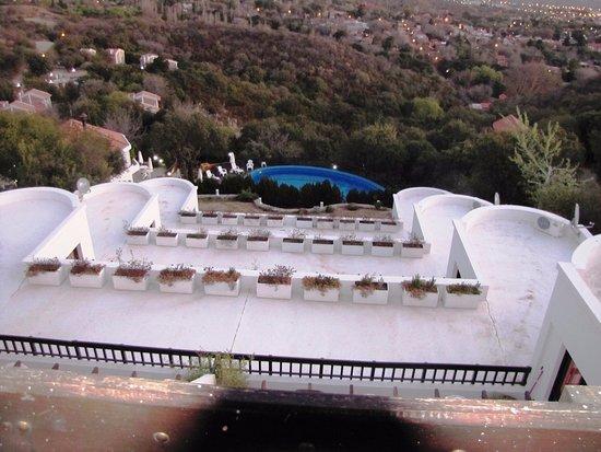 Hotel Terrazas De Merlo Vista Desde El Balcón De Unidad En