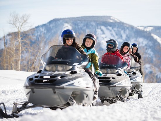 Park City, UT: Snowmobiling