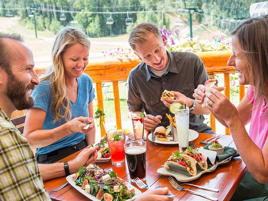 Park City, UT: Outdoor Dining at Deer Valley Resort