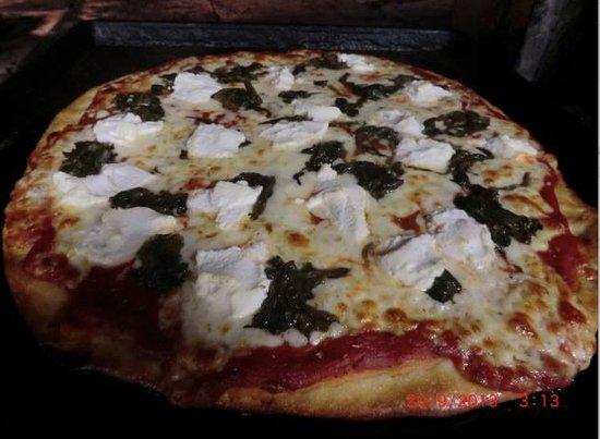 al santillo s brick oven pizza customers have a tough time deciding what type of pie