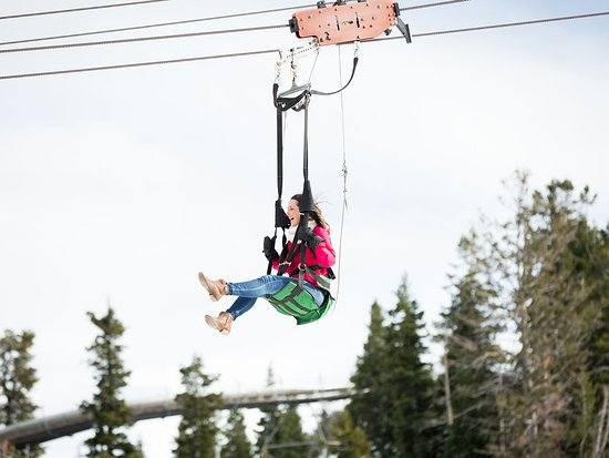 Park City, UT: Winter Zip Lining at Utah Olympic Park
