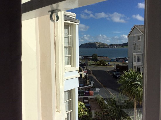 Lynton House: Superb view from room 3