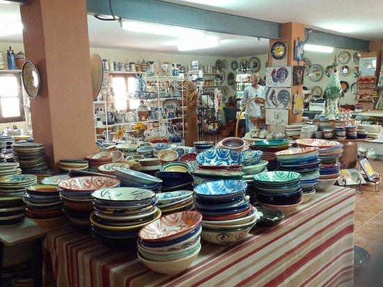 Sorbas, Spain: Le magasin, 2ème salle.