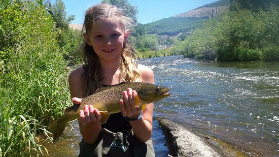 Park City On The Fly : Her 1st fish at age 11!!!!
