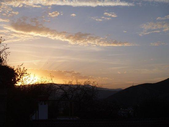 Mondujar, Spain: View from immediately outside Studio Apartment
