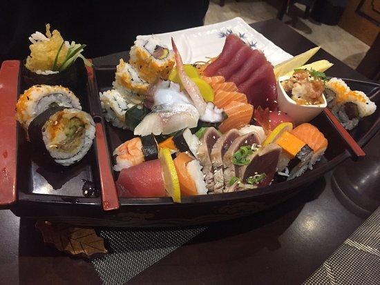 Kyoto: Sushi ship.