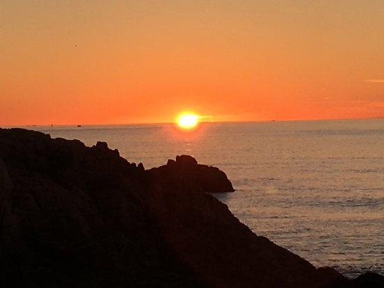 Sunrise from Bass Harbor