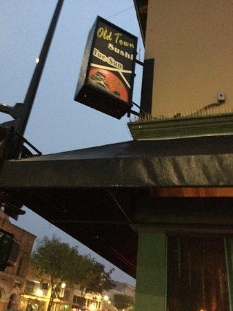 ซานมาเทโอ, แคลิฟอร์เนีย: Restaurant sign