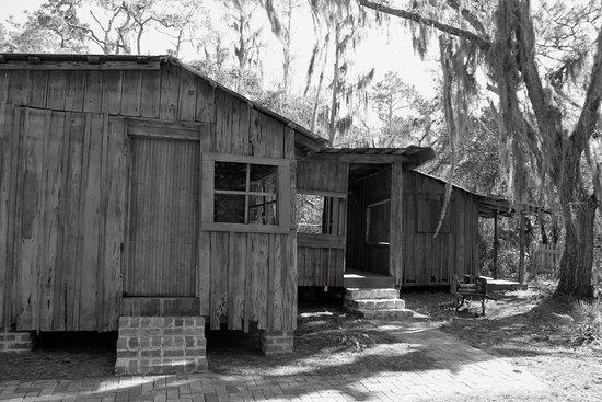 Osceola County Historical Society Pioneer Village: On the boardwalk hike, farm house.