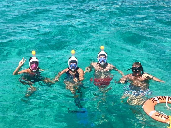 Jolly Harbour, Antigua: Snorkelling