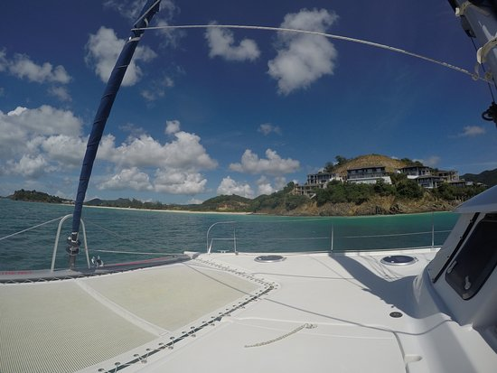 Jolly Harbour, Antigua: way home