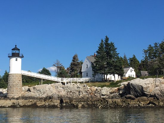 Stonington, ME: The lighthouse you pass on the boat ride to Isle au Haut