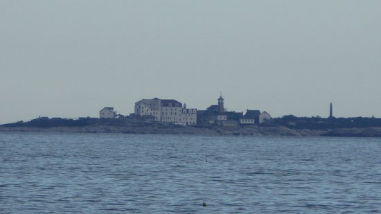 Rye, NH: Isle of Shoals from the park
