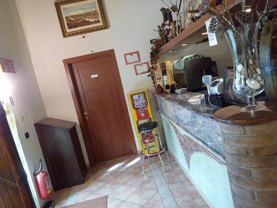 Pergine Valdarno, Italia: Il bar