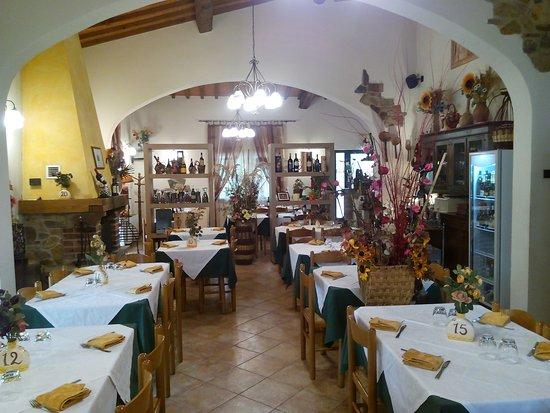 Pergine Valdarno, Italia: La sala