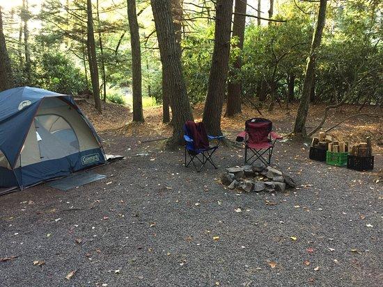 Weatherly, Pensilvania: Campsite #1