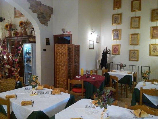 Pergine Valdarno, Italia: L'angolo di Leonardo
