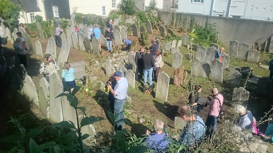 Plymouth Synagogue: The old Jewish cemetery on the Hoe